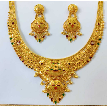 22 CT Fancy Necklace Set by Vipul R Soni