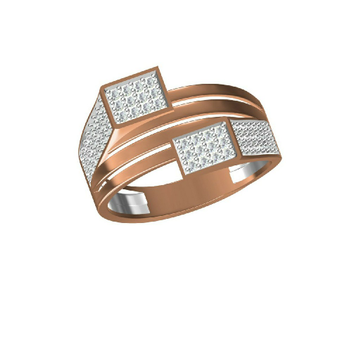 18Kt Rose Gold Exclusively Men's Outwear Ring-31310