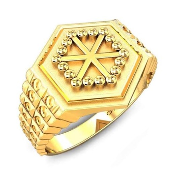 22kt, 916 hm, yellow gold chakra design on top JKR226