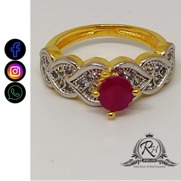 22 carat gold ladies fancy rings RH-LR404
