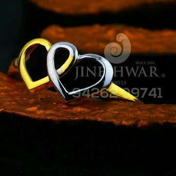 916 Simple Heart Shape Ladies Ring LRG -0650