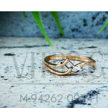 18kt Fancy Plain rose Gold Ladies Ring LRG -0762