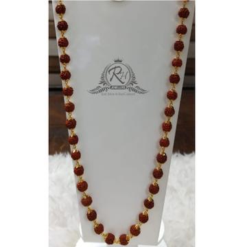 22 carat gold men rudraksha mala RH-ML715