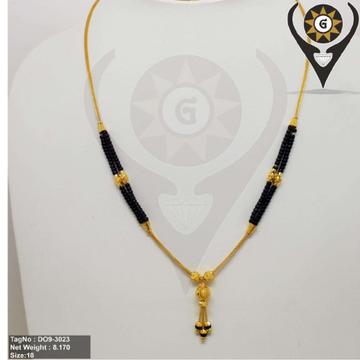 916 Gold Women Dokiya chain  by Parshwa Jewellers