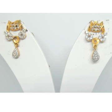 22KT / 916 Gold CZ Fancy work ware earring fpr ladies BTG0313
