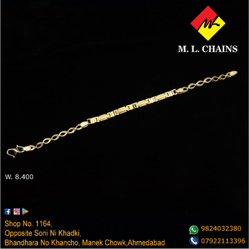 22KT Gold Gents Lucky ML-B07