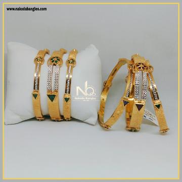 916 Gold Patla Bangles NB-292