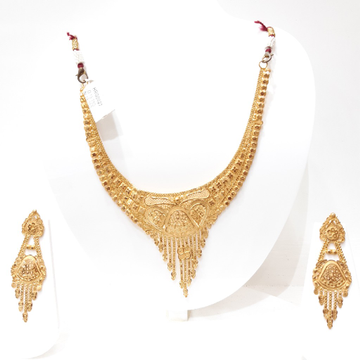 Necklace With Eearing