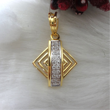 916 GOLD CZ DAIMOND  MANS PENDANTS