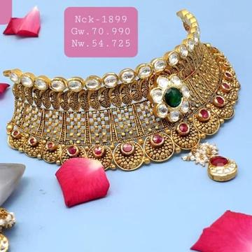 Gold choker set 916 by
