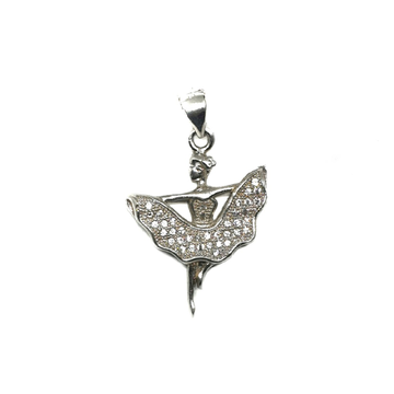 925 Sterling Silver Lady Pendant MGA - PDS0033