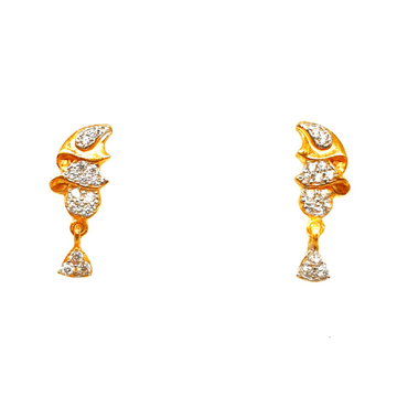 22K Gold Fancy Earrings MGA - BTG0415