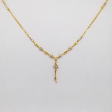 22 KT 916 Hallmark Gold Plain Dokiya for ladies by Zaverat