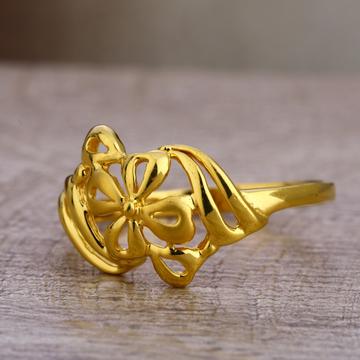 22CT Gold Ladies  Designer  Plain Ring LPR436