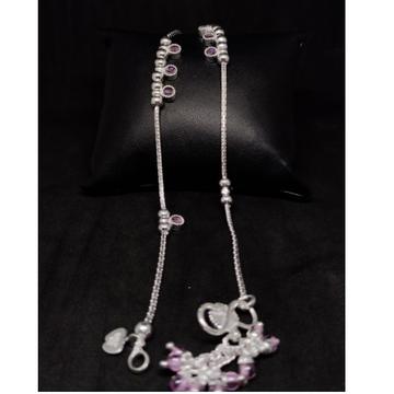 silver fancy anklets payal RH-LA886