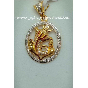 916 Gold Relgious Ganeshji Pendant