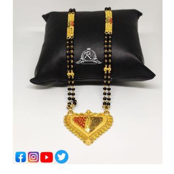 22 carat gold mangalsutra RH-MS250