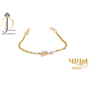 22KT / 916 Yellow Gold dailyware Bracelets For Lad... by