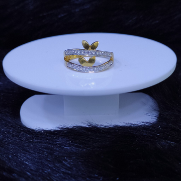 22KT/916 Yellow Gold Adalin Ring For Women