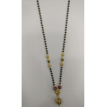 22 carat gold antique ladies mangalsutra RH-LM939