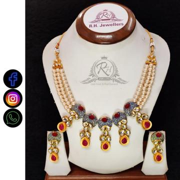 22 carat gold manufacturer of fancy necklace set rH-LS519