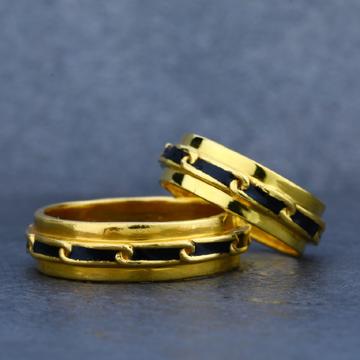 916 Couple Gold Designer Ring-CR12