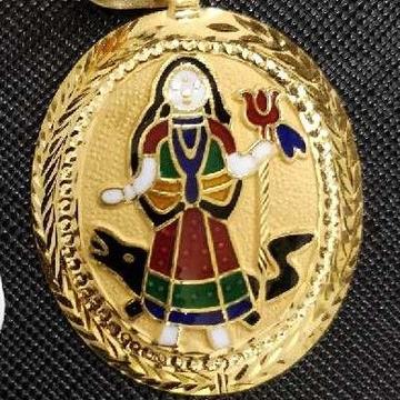 Khodiyar ma gold Pendant