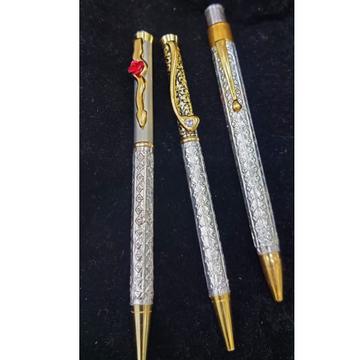 silver pen by