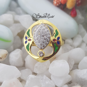 colour Meena Ring