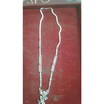 Dabal Box Sadak Chain Rava Casting Mina Dimond 1 Line White(Safed) Mangalsutra With Pendant Ms-2610