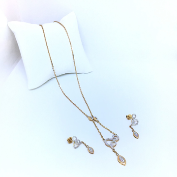 DESIGNED GOLD SET FOR LADIES by