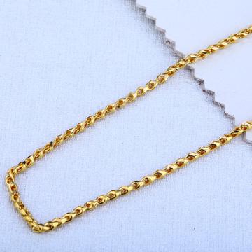22ct Gold Hallmark Exclusive Choco Chain MCH67