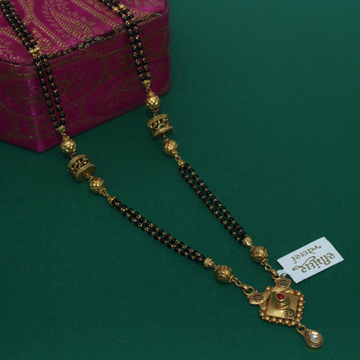 916 Hallmarked Classic Mangalsutra by Simandhar Jewellers