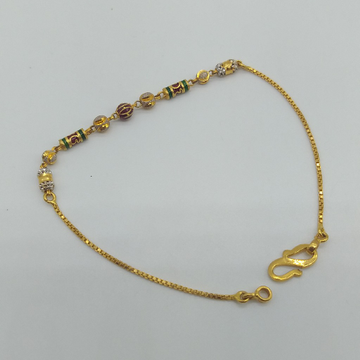 Gold ladies bracelet or lucky by