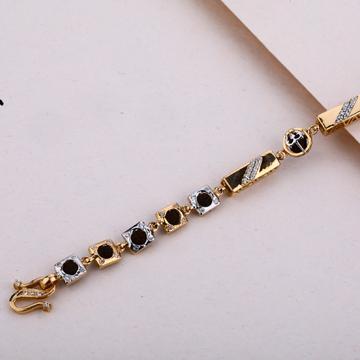 Mens Rose Gold Rudraksha Bracelet-MRB10