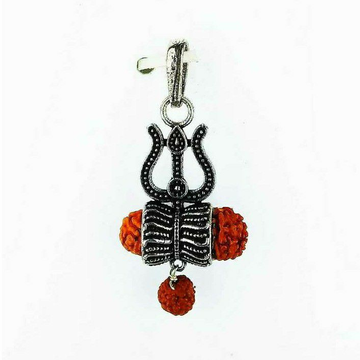 Light Weight Fancy 925 Silver Ladies Pendant
