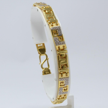 916 Gold Attractive Gents Lucky Bracelet KV-GB003