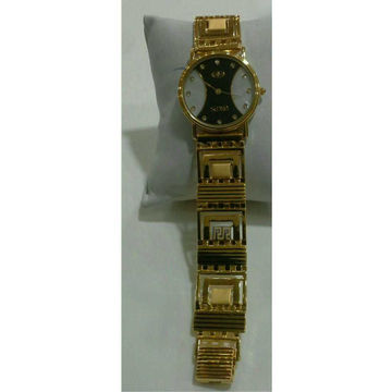 22k Gents Fancy Gold Watch G-1009