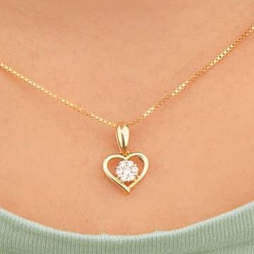22ct. gold heart pendentset gpda-00004