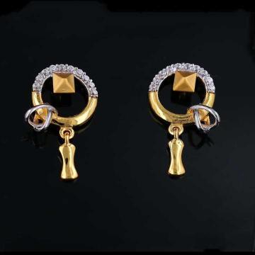 22 K Gold Fancy Earring. NJ-E01160
