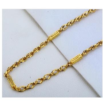 22 carat gold hallmarks designer chain RH-GC555