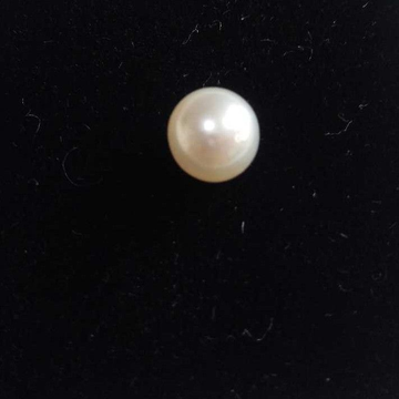 4.60ct round white pearl-moti by