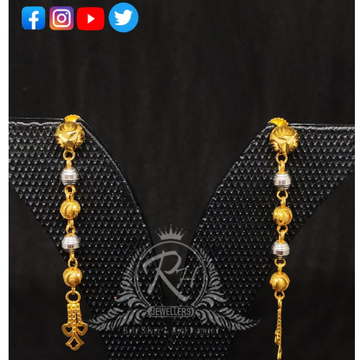 2 carat gold latest light weight earrings latkan RH-ER203