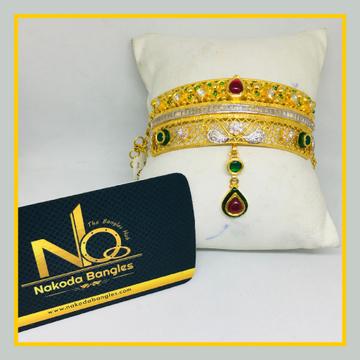916 Gold Antique Bajubandh NB - 1026