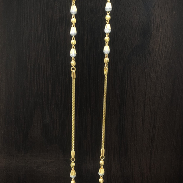 916 gold fancy ball chain by Suvidhi Ornaments