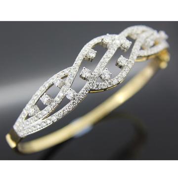 916 Gold Stylish Diamond Bracelet For Women GK-B01