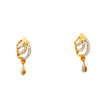 22K Gold Fancy Earrings MGA - BTG0257