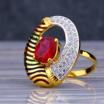 22 carat gold traditional ladies rings ZRH-LR426
