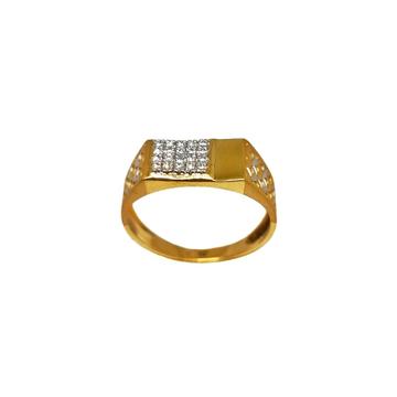 22K Gold Designer Gents Ring MGA - GRG0244