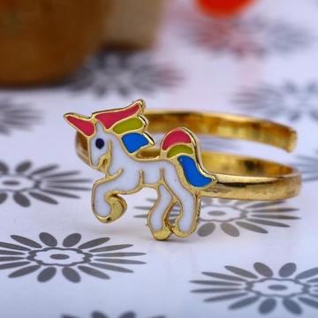 22kt Gold Horse Desgin Bacha Ring RH-GR06